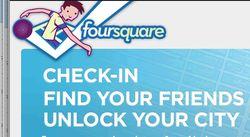 Foursquare pepsi mobile social network game