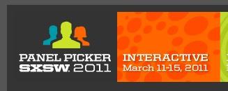 Sxsw panel picker 2011