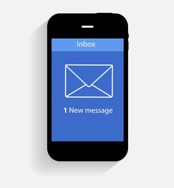 Mobile email marketing image